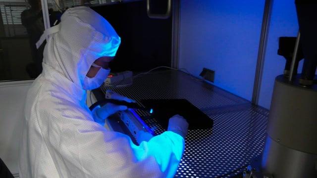 Reinraumtechnik in Forschung