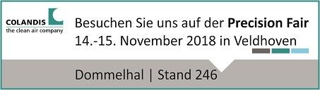 Banner Precision Fair 2018_klein