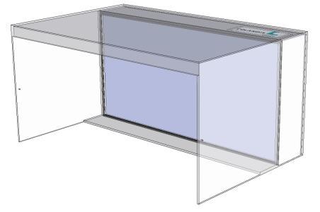 Mobile Reinraum-Box