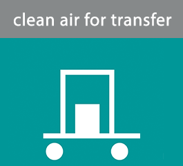 clean air for transfer