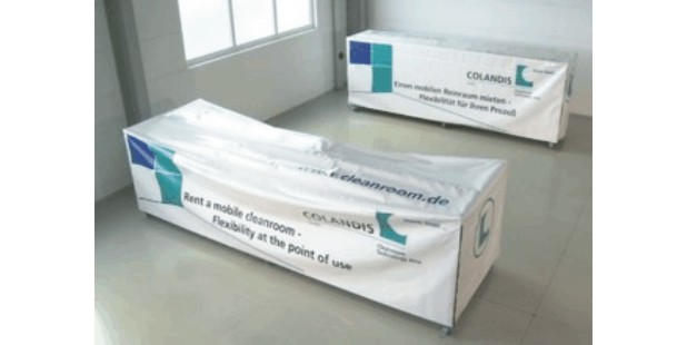 Rental-Cleanroom-delivery